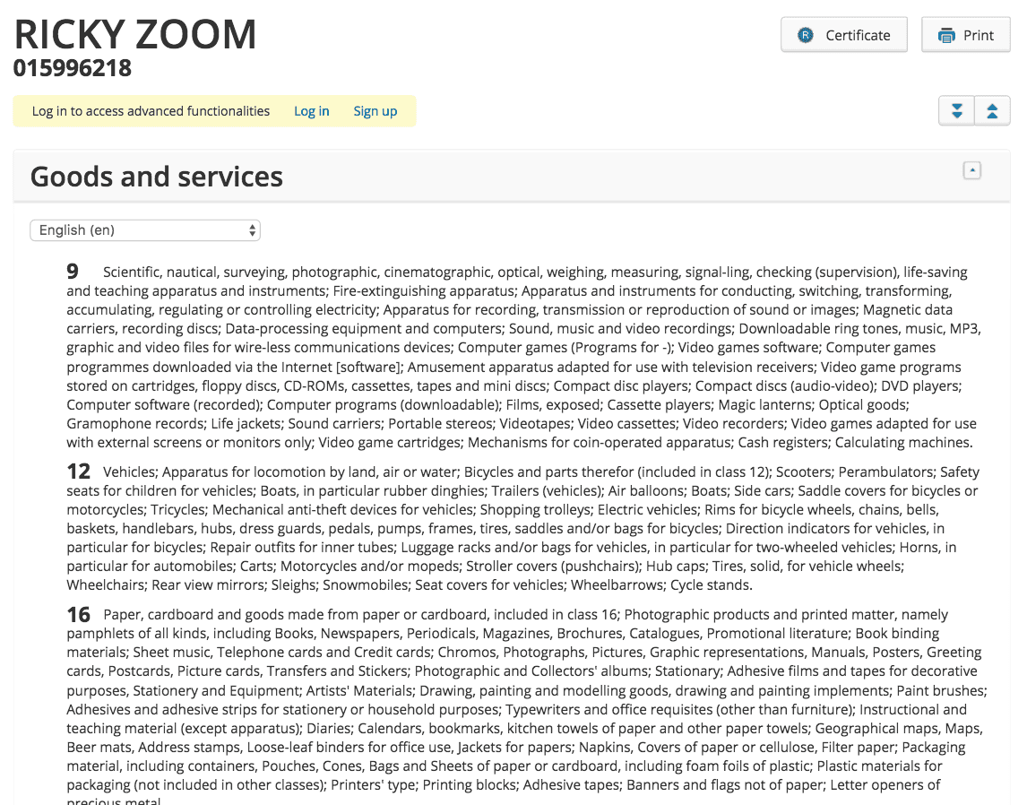Ricky Zoom Because You Know Ricky Zoom Applied For As A Trademark In The Eu By The People Behind Peppa Pig No Less