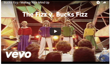 Putting 'The Fizz' in Bucks Fizz – The Fizz Trademark