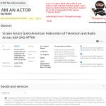 An EU trademark has been filed by the ScreenActorsGuild for IAmAnActor