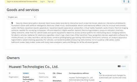 Huawei files an EU Trademark Appplicaion in the IPO for Matebook @Huawei Huawei