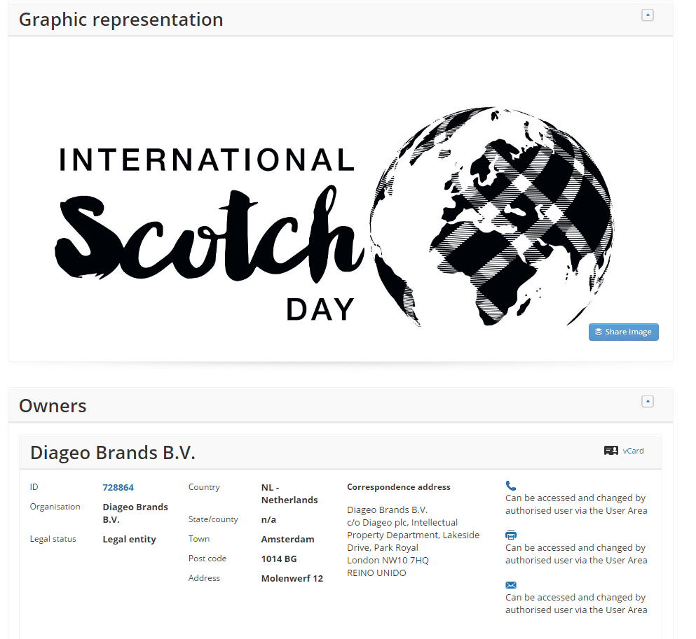 One of three trademarks filed by <a href=http://twitter.com/diageo target=_blank rel=nofollow data-recalc-dims=1>@diageo</a> last week for InternationalScotchDay ScotchDay Scotch