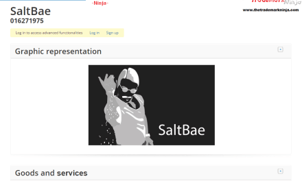 Salt Bae now has a trademark application in his honour which raises ALL sorts of legal issues SaltBae Trademark 1