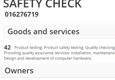 Samsung 8-Point Battery Safety Check Trademark Application