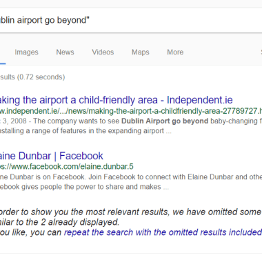 Dublin Airport Go Beyond Trademark Application