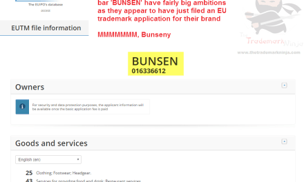 Looks like @BunsenTweets are planning a European takevoer