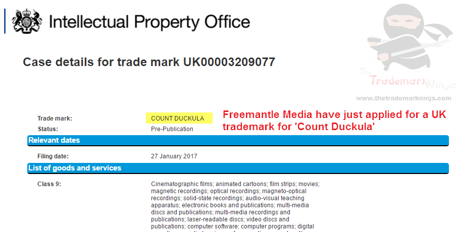 UK Trademark filed by <a href=