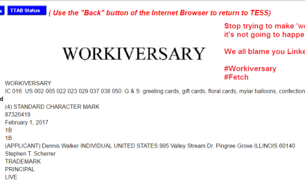 Workiversary is not a thing