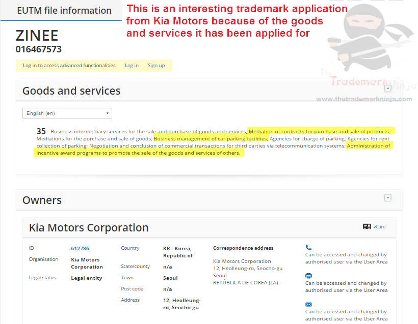 Are @kiamotors branching out or whats the story with this Zinee trademark application Kia Kiamotors