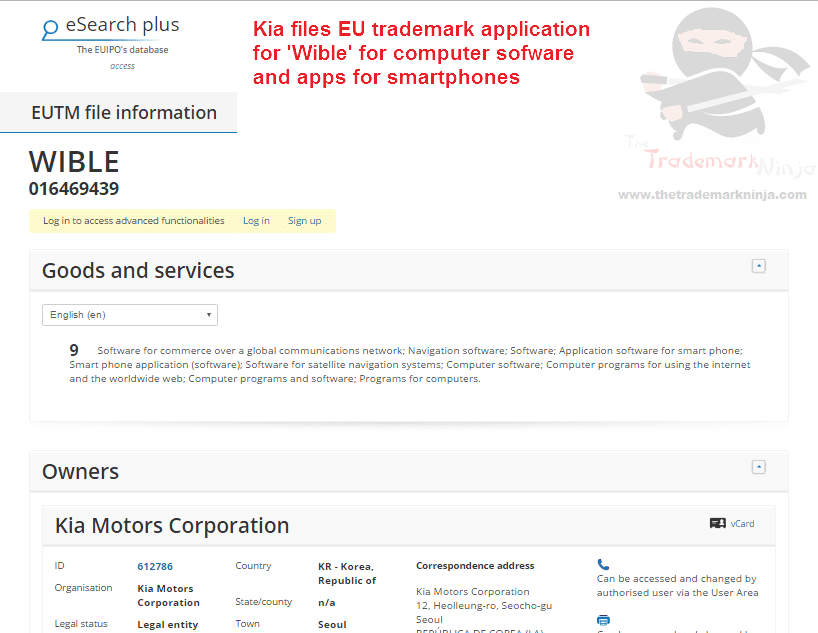 I presume this Wible software only works if you actually have a @kiamotors car Kia