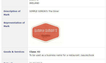 Would you like fries with that three blade TheGraftonBarber applies for trademark for SimplySimons for a restaurant