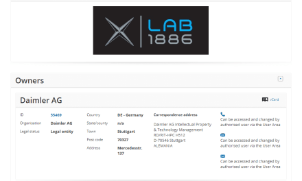 EUTM – Car Giant Daimler applies for EU Trademark for XLab 1886 #XLab #Mercedes #XLAB1886 #1886