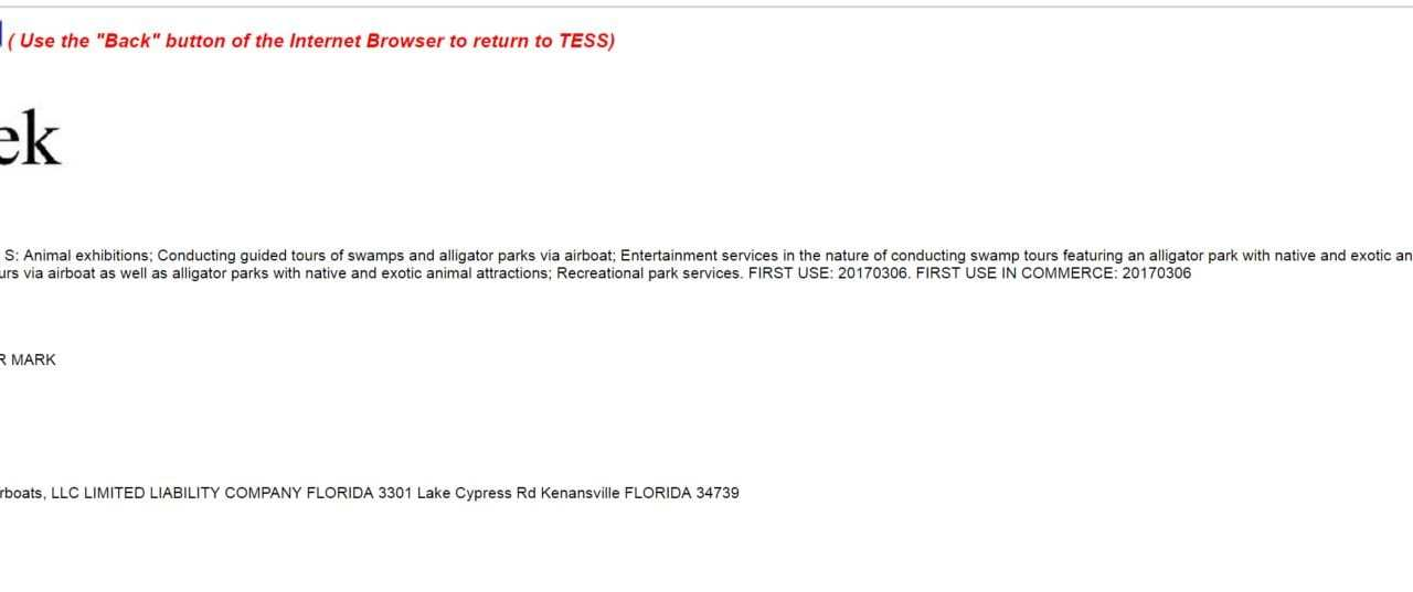 Never change America never change GatorWeek trademark application filed in the US #USTrademark