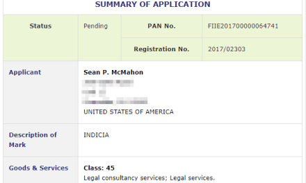 New Legal Provider coming soon? Trademark application for Indicia for legal services filed in Ireland #Trademark