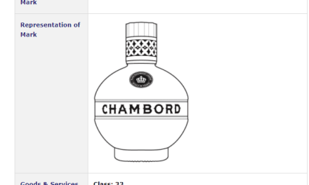 Trademark Ireland – Irish trademark application for Chambord bottle #Trademark #TrademarkIreland