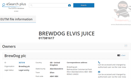 Were all shook up! Brewdog applies for Elvis Juice as the name for beer #Brewdog #ElvisJuice #Trademark