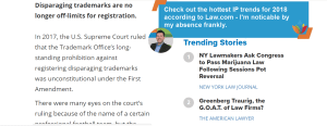 The hottest trends in IP to look out for in 2018 #Law #IP #Trademarks