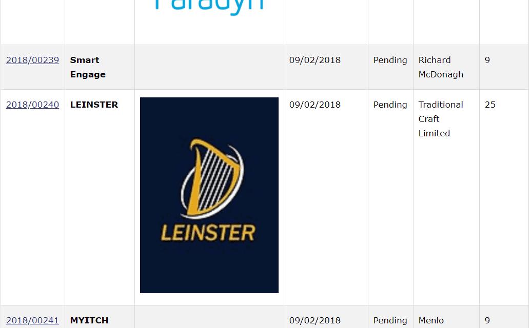 Trademark Ireland Irish Trademark Applications Espire SmartEngage Leinster Peoplize Stopitch TM Trademark