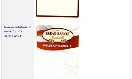 Trademark Ireland Application filed for BreadBasketBakery BreadBasket Bread Trademark TM LAw Leman