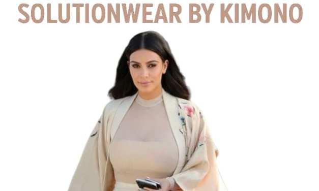 Solutionwear by Kimono – Kim Kardashian seeks Trademarks for Solutionwear, Kimono Solutionwear & Kimono World