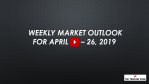 Weekly Market Outlook For April 22 - 26, 2019