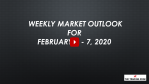 Weekly Market Outlook For February 3 - 7, 2020 - Crash or Healthy Pullback?