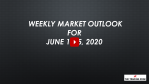 Weekly Market Outlook For June 8 - 12, 2020 - Best Stock Market Ever
