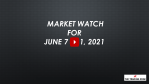 Market Watch For June 7-11, 2021 - An Upward Drift in Stocks + A Potential Sell-Off in Cryptos