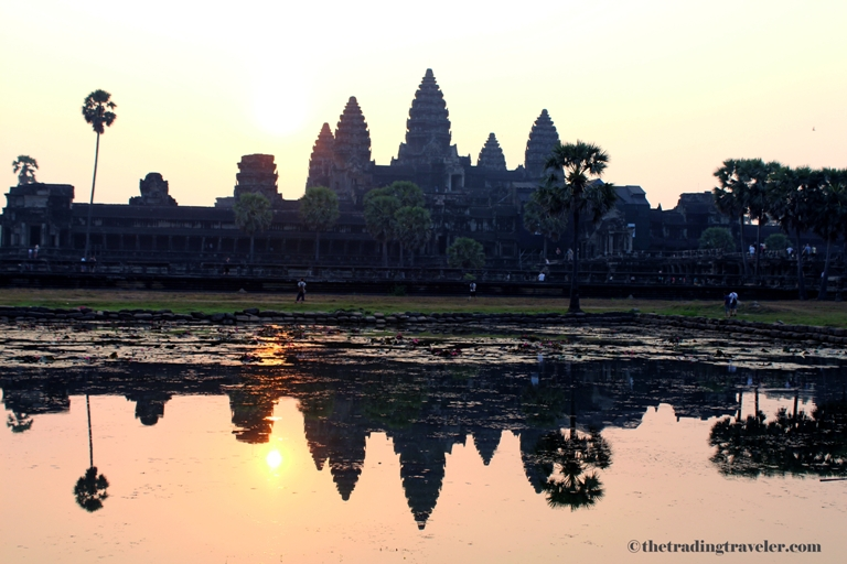 Angkor Wat Sunrise Reflection