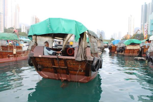 sampan boat hong kong
