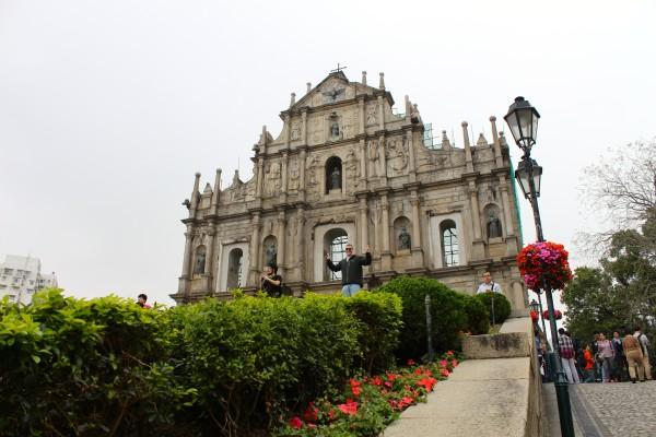 St Paul's ruins macau