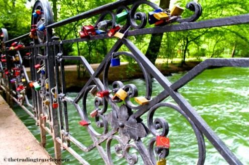 english garden locks bridge