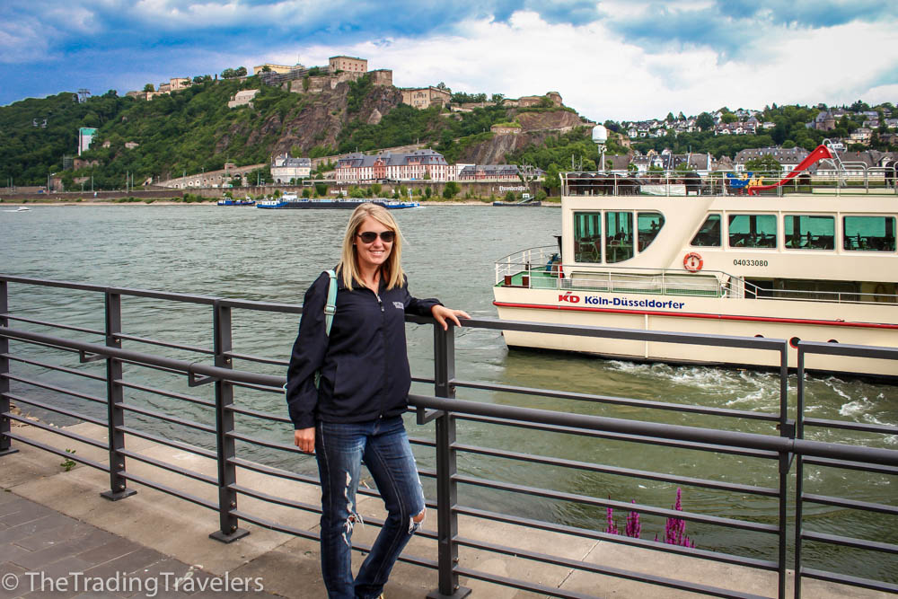 Cruising the Rhine River in Germany
