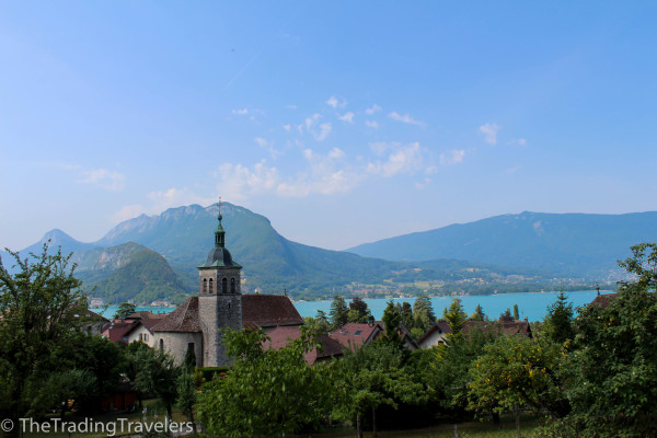 summer in lake annecy