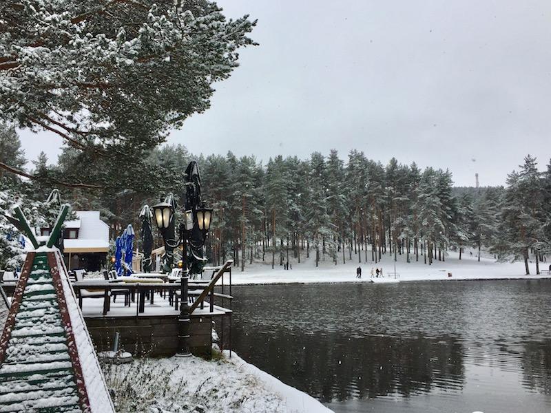 zlatibor serbia in the snow