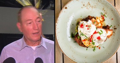 Trendy Melbourne cafe serves Anning-themed breakfast