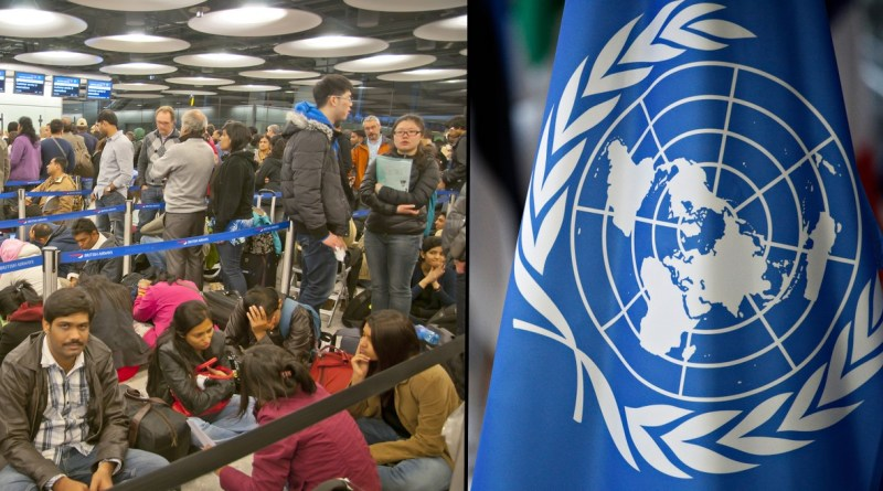 "UN tells everybody on Earth to ""Go back where you came from"""