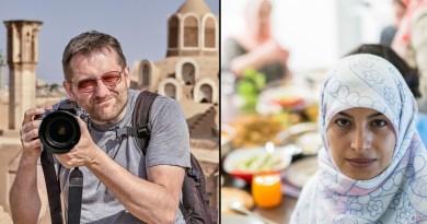 Tourist in Iran