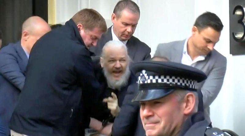Assange grows filthy backpacker beard