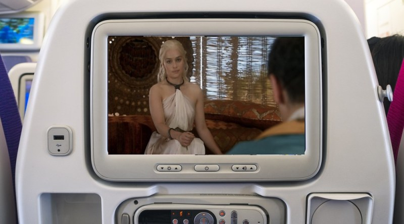 EMirates in-flight entertainment edits Game of Thrones
