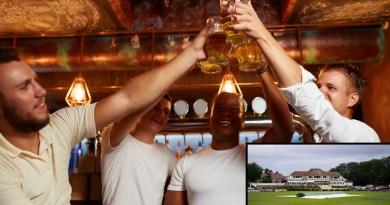 Lads on cricket tour