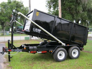 UDump Bumper Pull  Roll Off Trailers For Sale