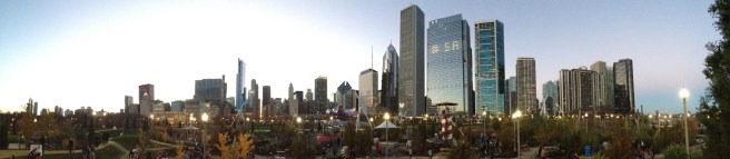 What a city