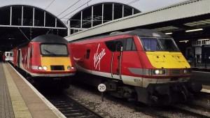Newcastle Trains January 2018