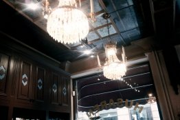 beautiful lights | Cafe Husaren