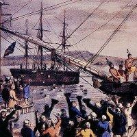 The Destruction of the Tea in Boston