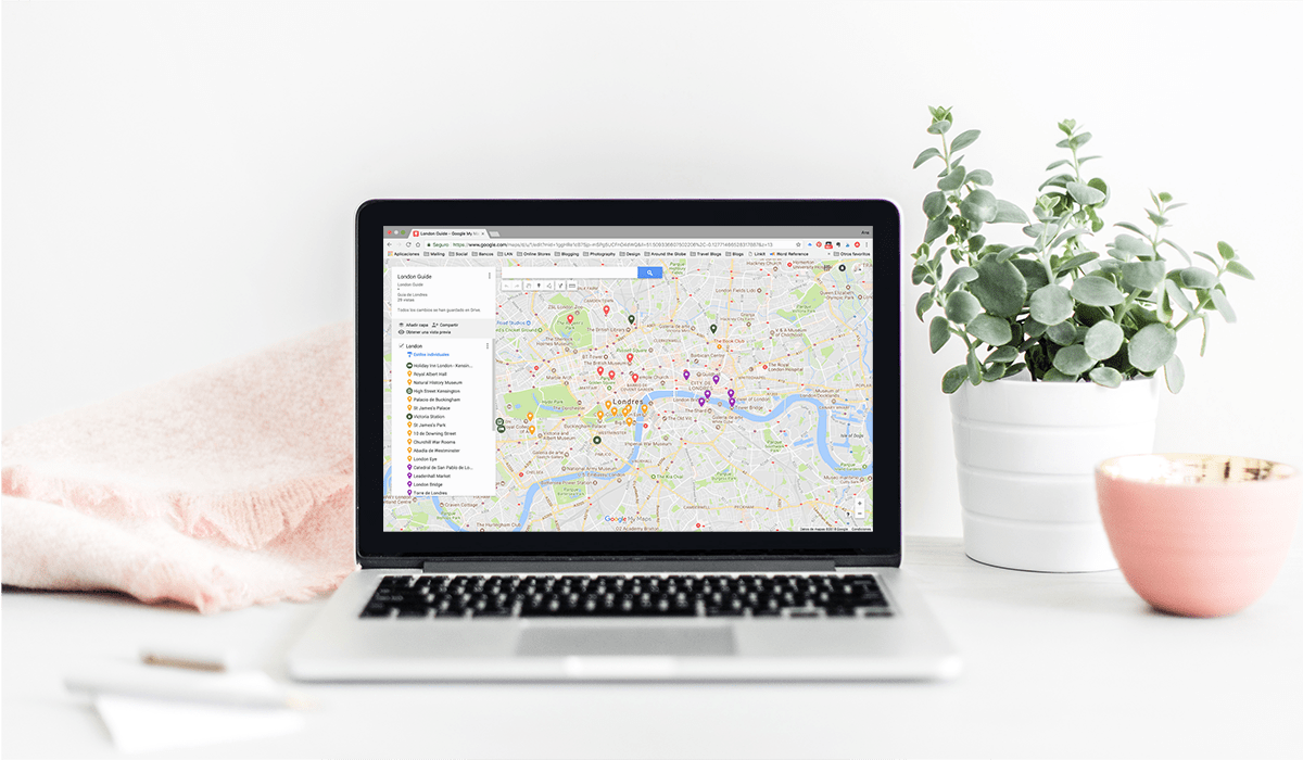 Como usar google maps para planificar tus viajes por The Travel Book Co