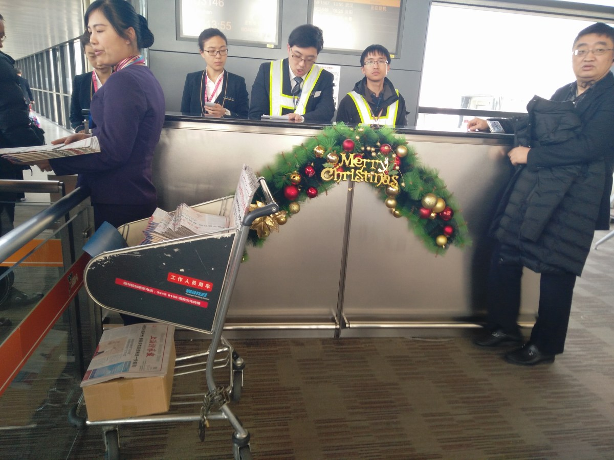 Returning Home to China & the Quirks of Chinese Airports