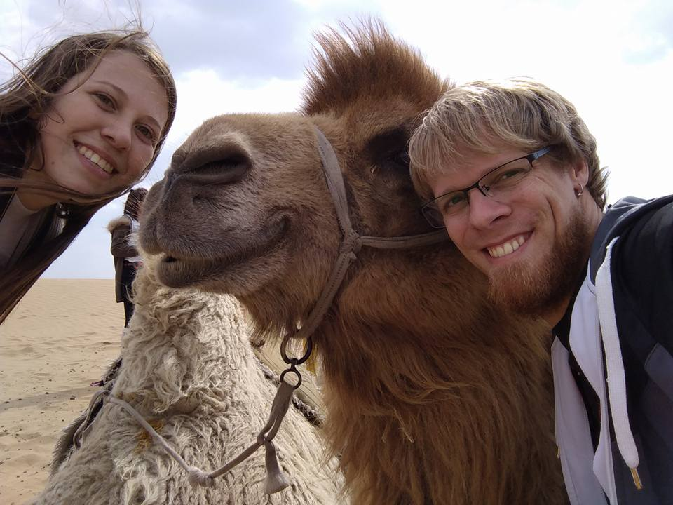 Where to Ride a Camel in China?