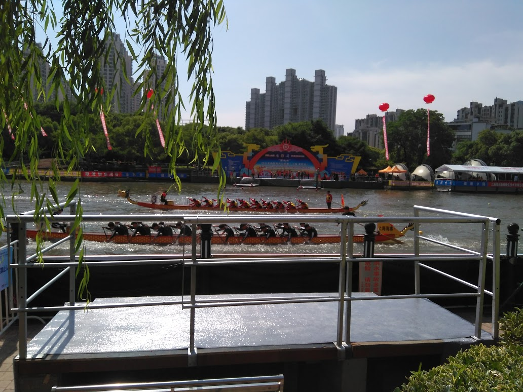 Dragon Boat Festival in Shanghai