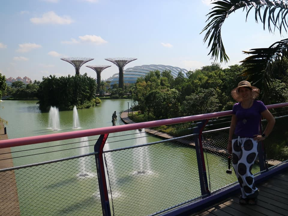 Global Warming by Singapore's Super Tree Grove
